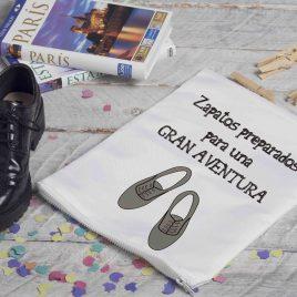 Zapatos preparados para una GRAN AVENTURA