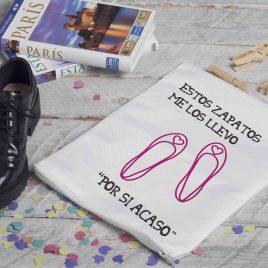 """Estos zapatos me los llevo…""""por si acaso"""""""