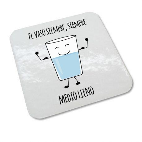 posavasos vaso agua