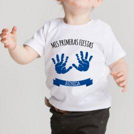 Camiseta Huellas Mano