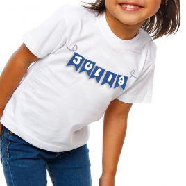 Camiseta niño/a Banderines (Unisex)