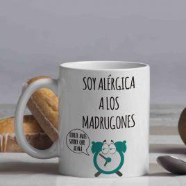 Soy alérgica a los madrugones