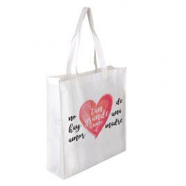 Bolsa  'No hay amor tan grande como el de una madre'