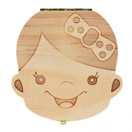 Caja guarda dientes niña (personalizada)